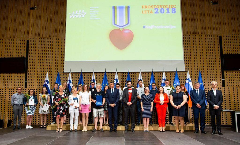 Fotografija je iz lanskoletne zaključne prireditve natečaja (foto: Matej Pušnik)
