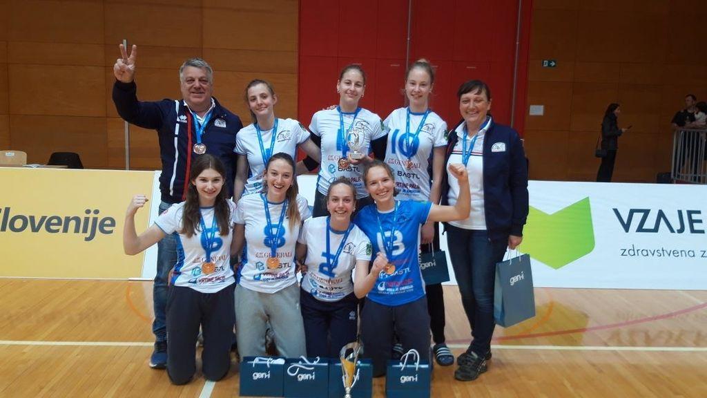 Braslovške mladinke 3. v državnem prvenstvu