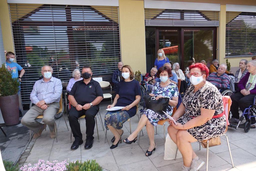 Odprtje Demenci prijazne točke v Domu starejših občanov Grosuplje