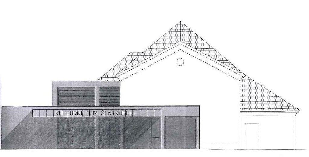 KULTURNI DOM ŠENTRUPERT: Oddana vloga za gradbeno dovoljenje