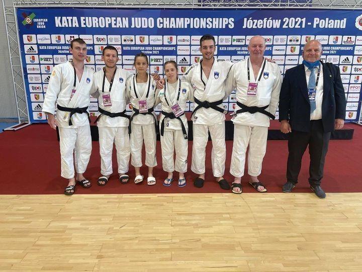 Dve četrti mesti na evropskem prvenstvu v judo katah za koroške judoiste