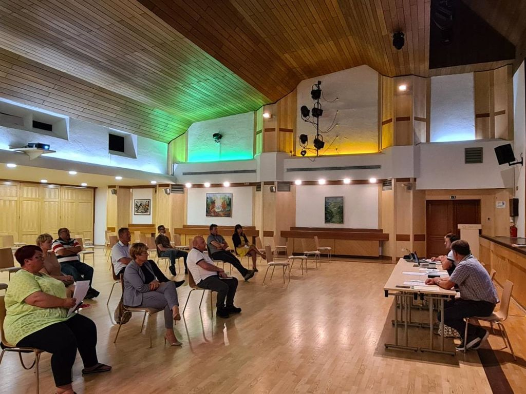Delovna sestanka z vodstvi naših največjih podjetij in društev v občini