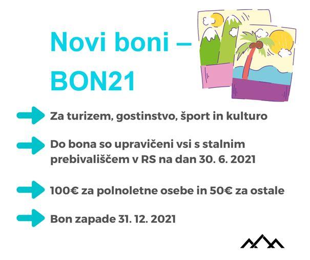 Unovčevanje novih bonov - BON21 |Avtor FURS