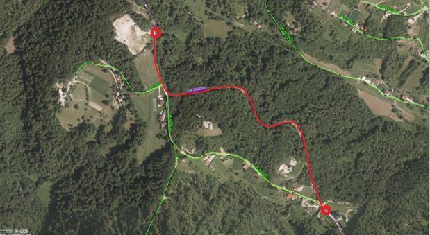 Rekonstrukcija lokalne ceste LC 425332 Šentrupert - Zaloka