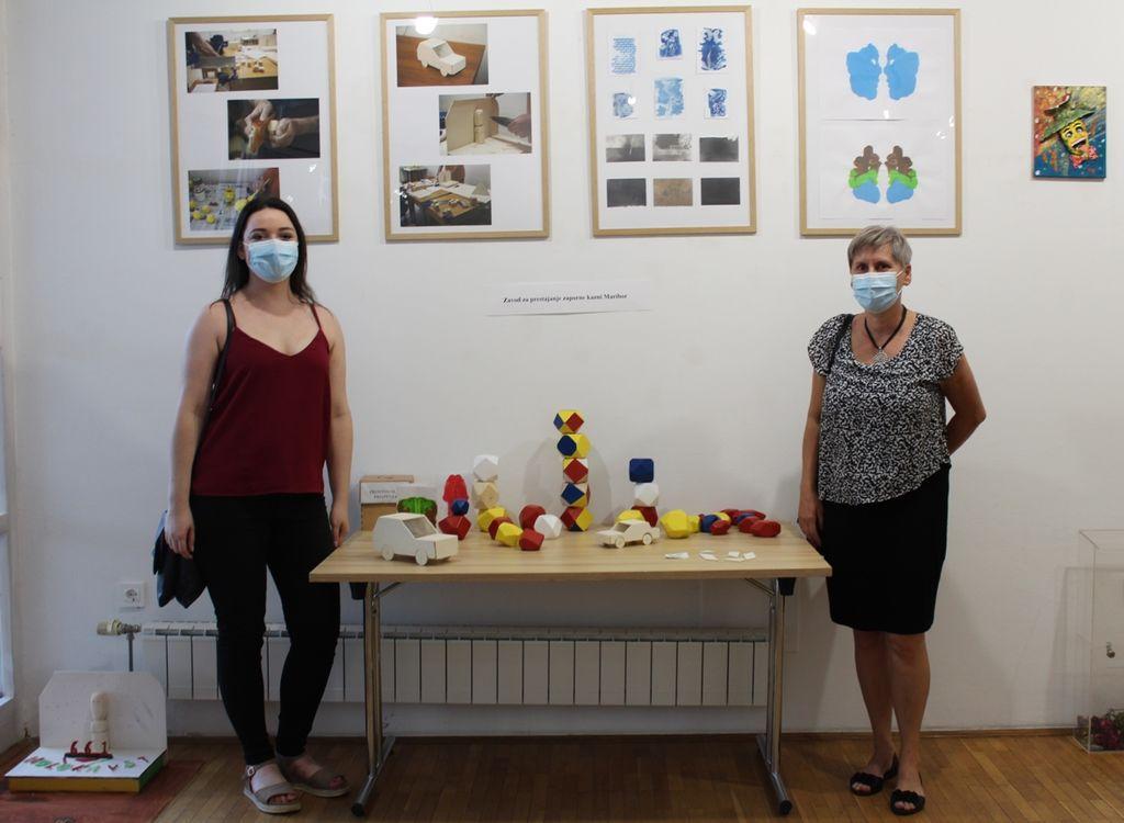 Odprtje razstave izdelkov delovne terapije, nastalih v mariborskem zaporu