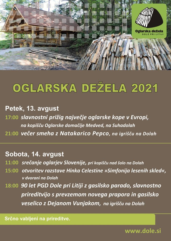Oglarska dežela 2021