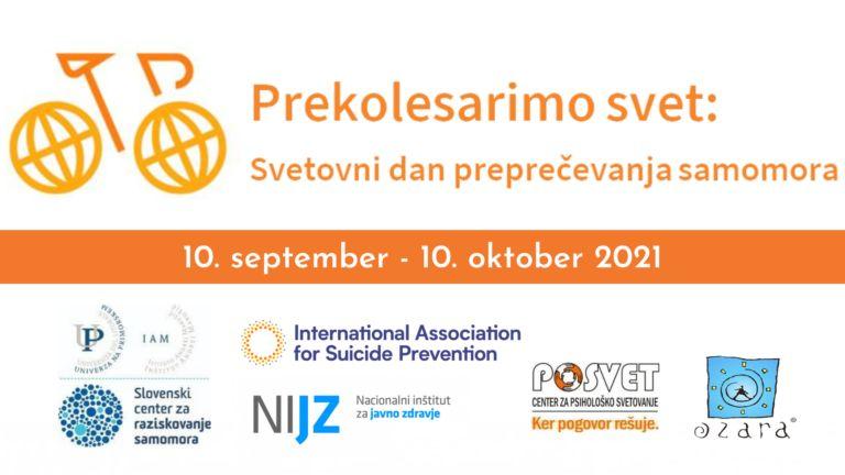 Obeležitev svetovnega dneva preprečevanja samomora 2021