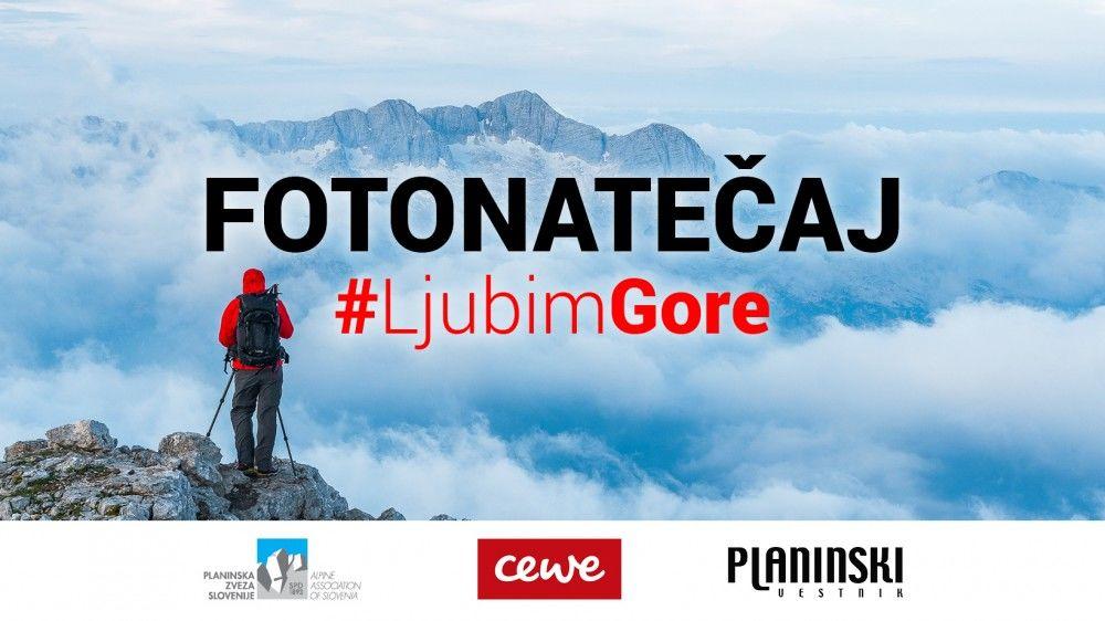Nagradni fotonatečaj #LjubimGore 2021