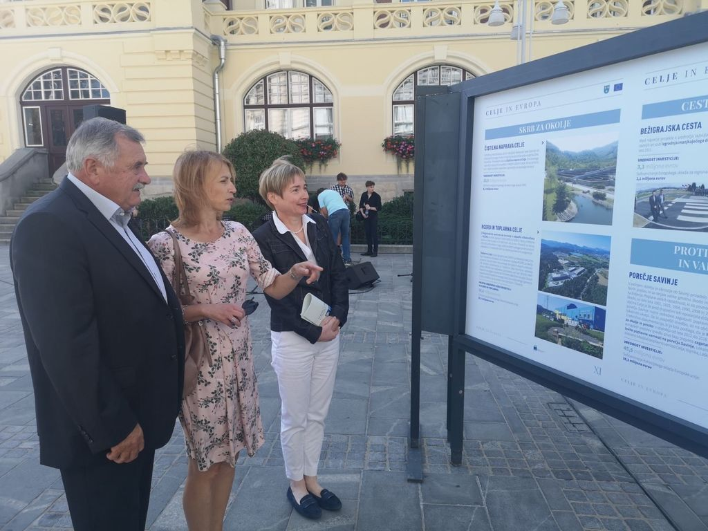 O evropskih projektih in dosežkih, ki so spremenili Celje