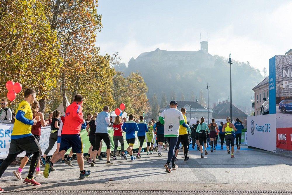 Virtualni Volkswagen Ljubljanski maraton