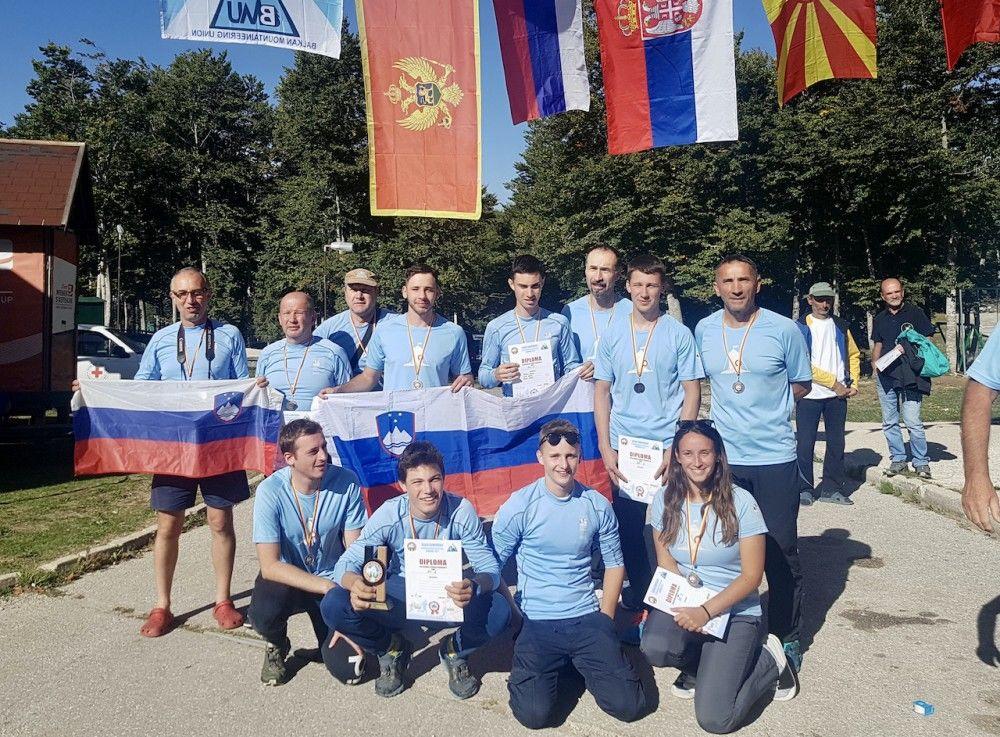 Med najboljšimi orientacisti na Balkanu planinci iz Poljčan (foto arhiv Gvida Španringa)