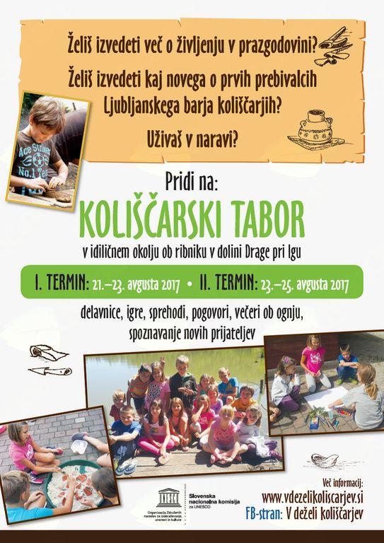 Koliščarski tabor za otroke