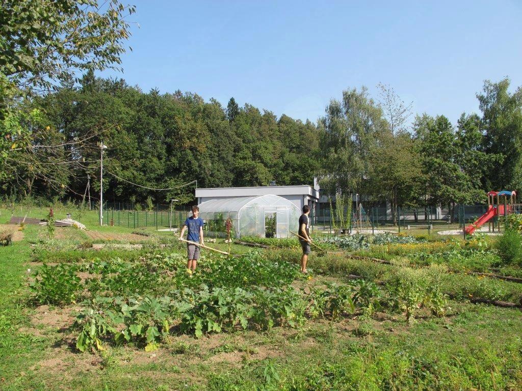 Srečanje na javnem učnem biodinamičnem vrtu in eko praznik