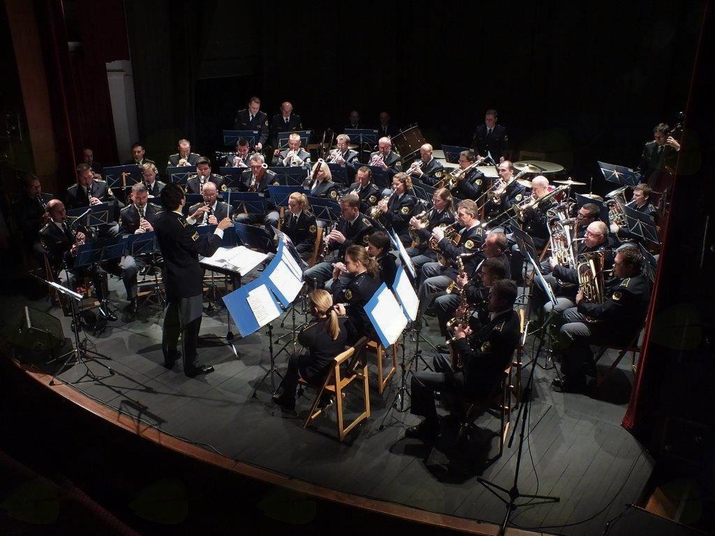 Koncert Orkestra Slovenske policije s Kvatropirci