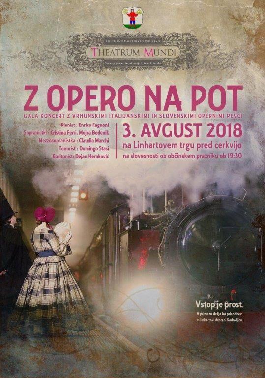 """Slovesnost ob občinskem prazniku s koncertom """"Z opero na pot"""""""