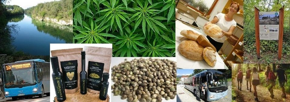 Zdravje iz konoplje, lepote soteske Zarica ter pekovske dobrote iz vasi ob Savi