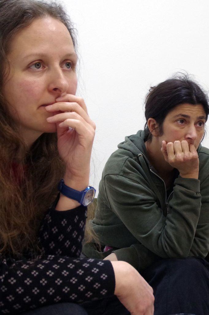 Vojka Cestnik, koordinatorka DiEM25 Ljubljana in Katarina Rotar, Slovenska filantropija