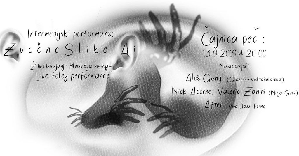 "Prvi live ""Foley"" performans pri nas"