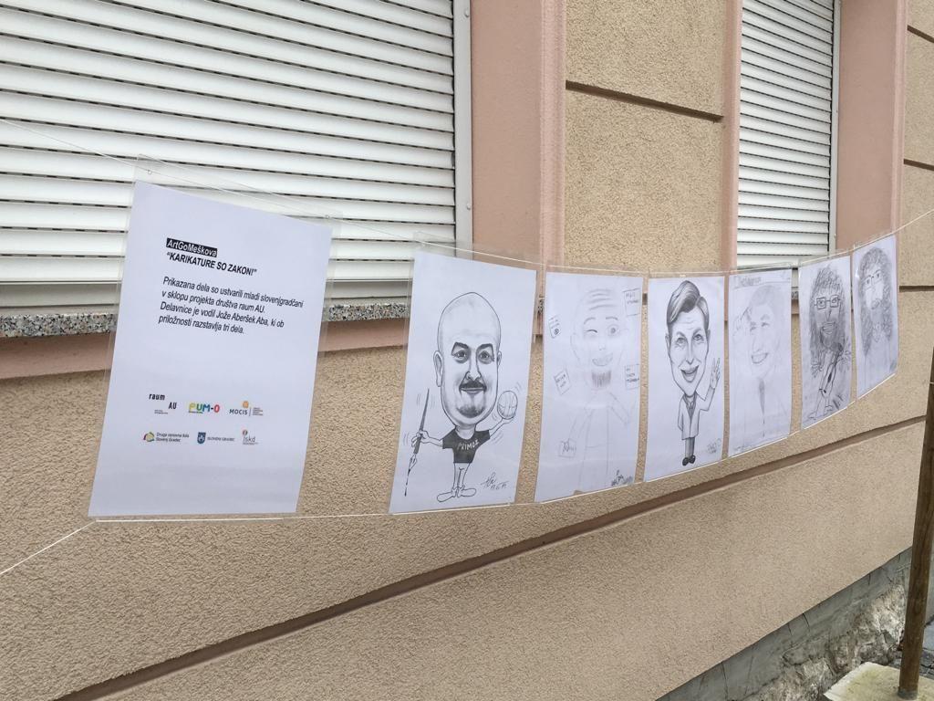 Karikature na Meškovi ulici