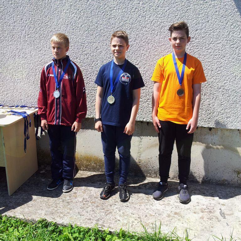 Jošt Čretnik - bronasta medalja