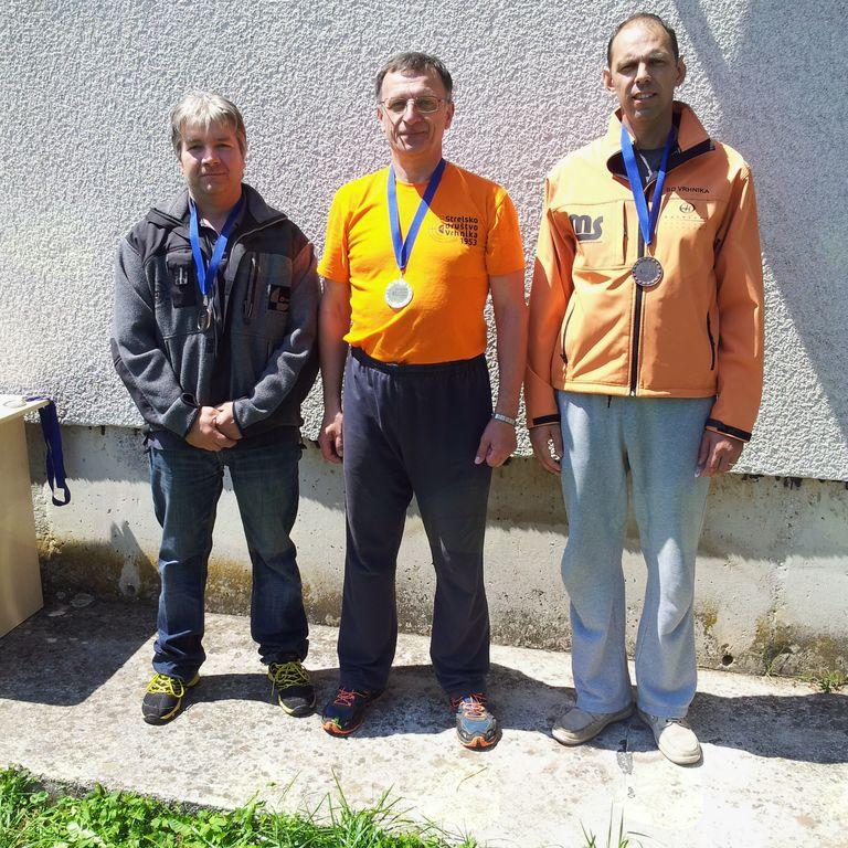 Bojan Lampreht - zlata in Aleš Rom - bronasta medalja