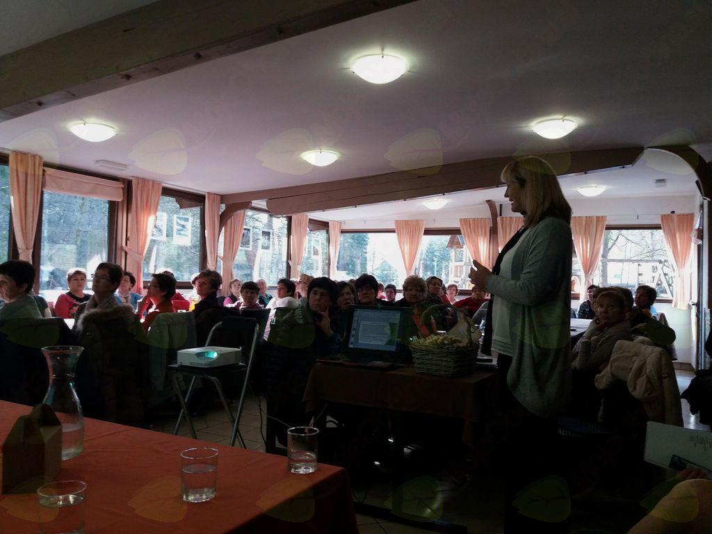 predavateljica Margita Vehar