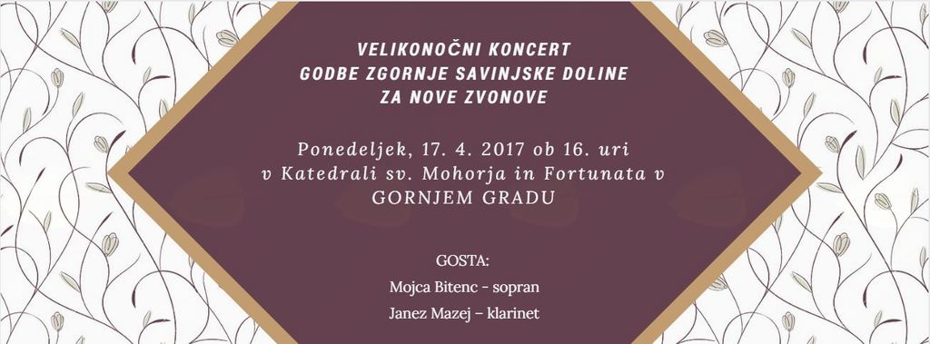 Velikonočni koncert Godba Zgornje savinjske doline