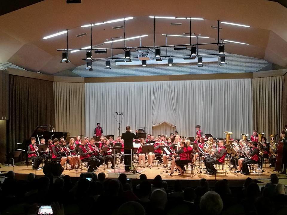 Celovečerni koncert Godbe Zgornje Savinjske doline v Velenju