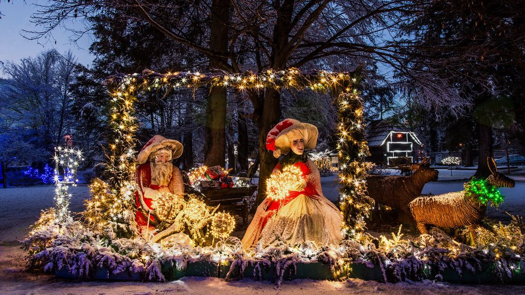 3. Božična bajka Slovenije v Mozirskem gaju