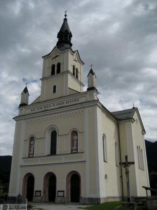 Cerkev sv. Nikolaja na Bohinjski Bistrici