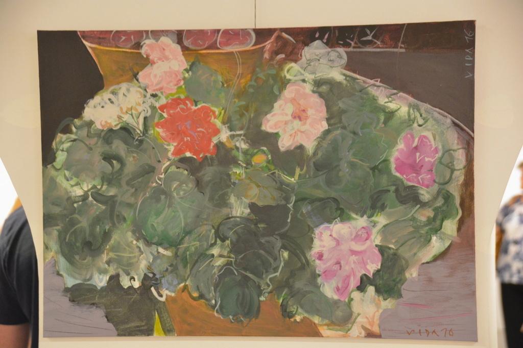 TIHO – ŽITJE, razstava del akademske slikarke Vide Slivniker