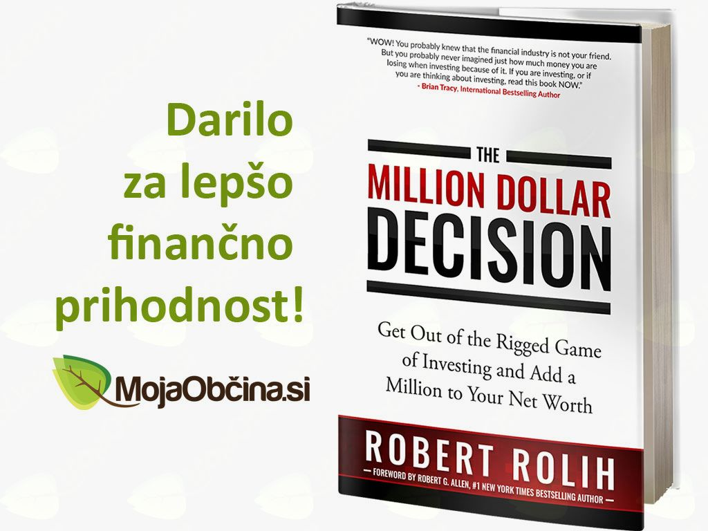 Knjiga The Million Dollar Decision za lepšo finančno prihodnost!