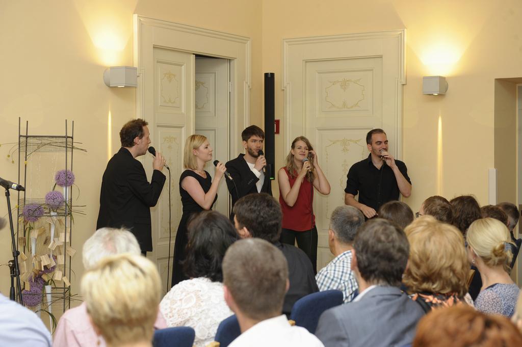 A capella skupina Basseless. (Foto: Foto atelje Pavšič Zavadlav)