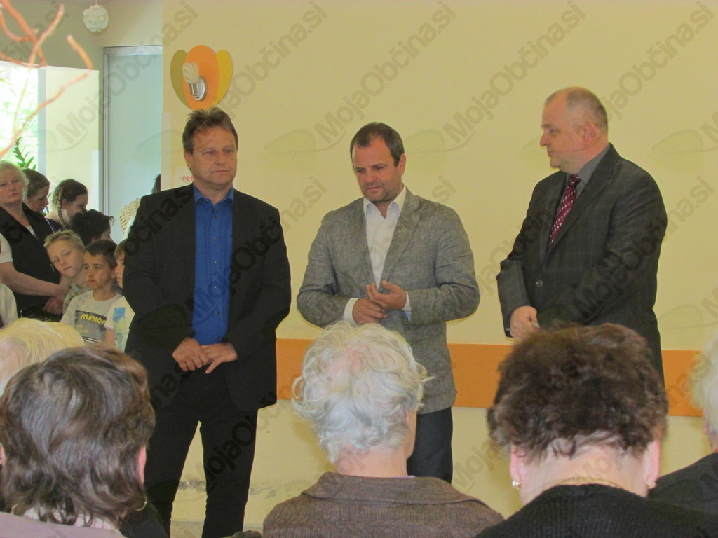 Varovance so pozdravili župani vseh treh Posoških občin. Foto: OZRK OI Tolmin