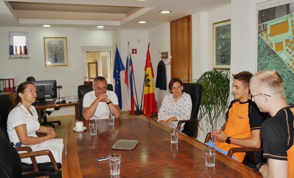 Župan čestital Maticu Blažu
