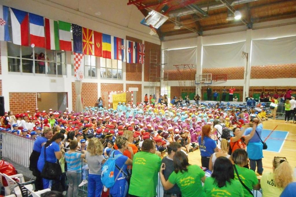 Debi šentjanških mažoret na evropskem prvenstvu