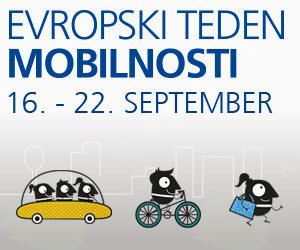 Evropskemu tednu mobilnosti se pridružuje tudi Občina Kobarid