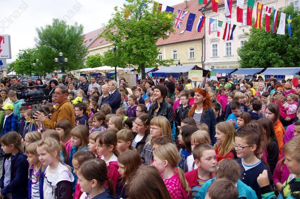 Evropska vas  v Slovenj Gradcu