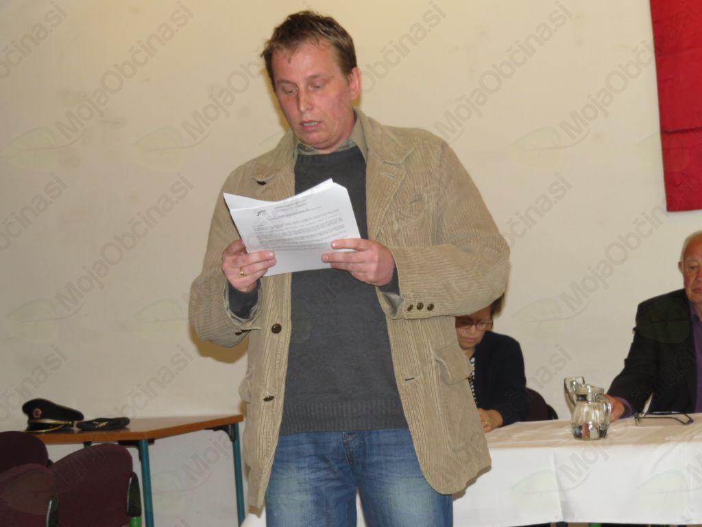 Matej Blažun, novi predsednik MO ZB za vrednote NOB Slovenj Gradec