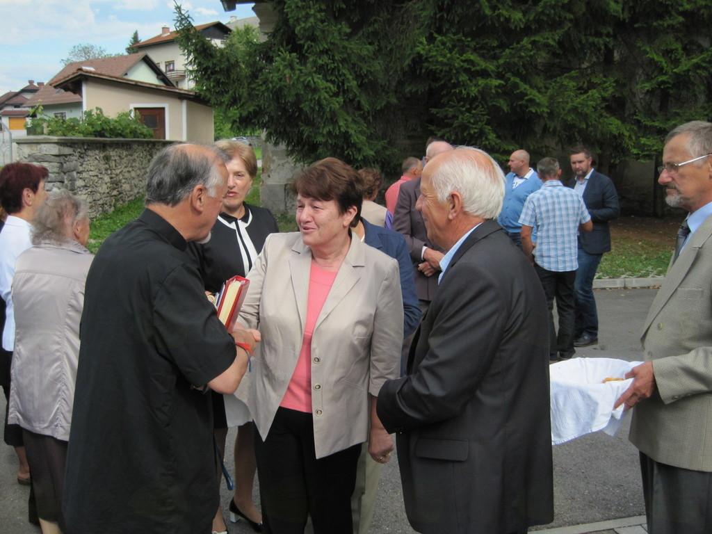 Župnik Anton Potokar iz Krašnje dopolnil 70 let