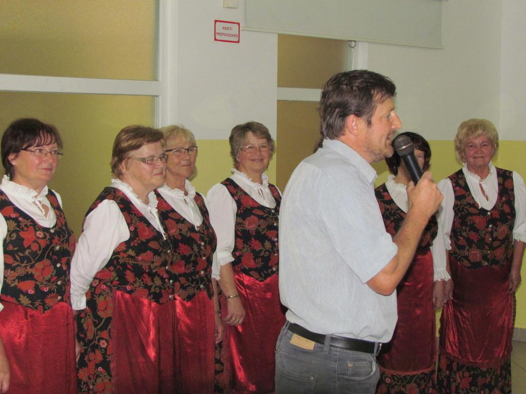 Nagovor Marjana Majgerja, predstavnika Katoliškega društva Ivana Šoparja