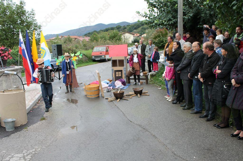 Dogodek ob vodnjaku v Biljah