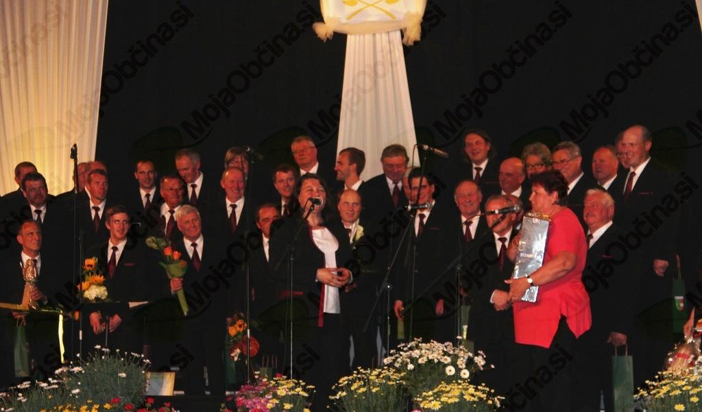 Zahvala čeških prijateljev zbora