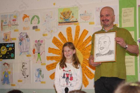 *Primožev portret - Nušino darilo