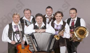 Glasbeni večer - DIe Mooskirchner ind Alpski kvintet