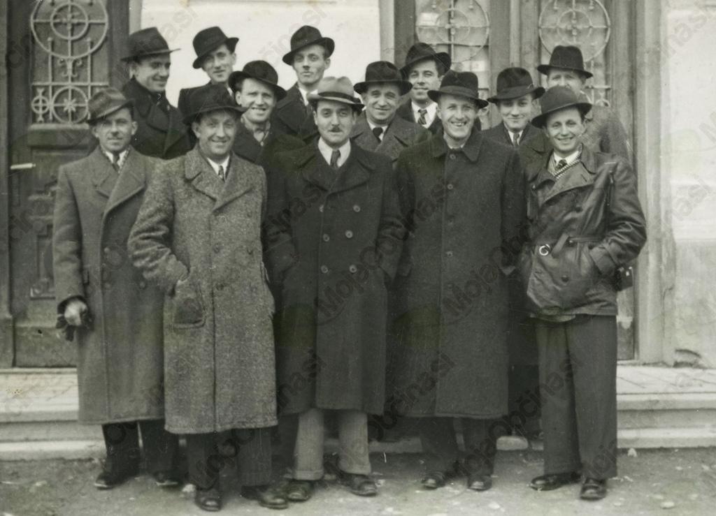 Začetna zasedba prosvetnega zbora