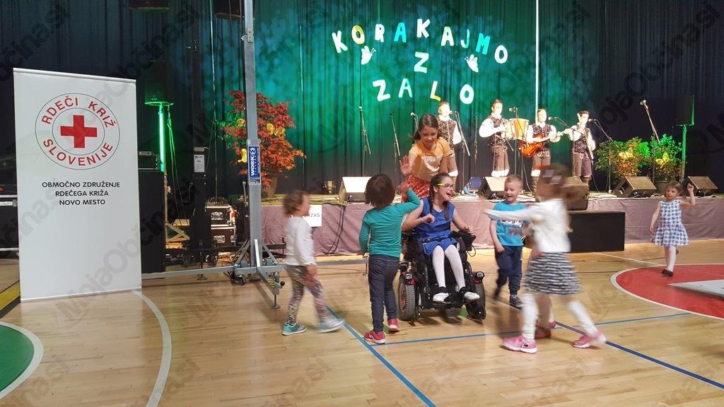 Z dobrodelnim koncertom zbrali  sredstva za Zalo