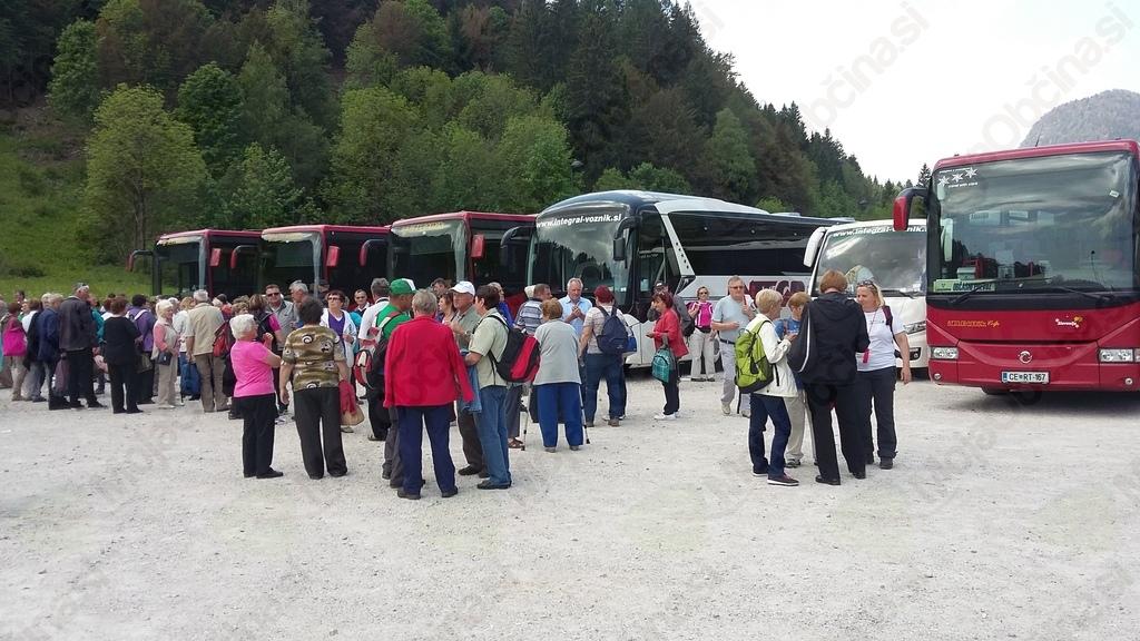 Izlet članov Društva upokojencev Šentrupert