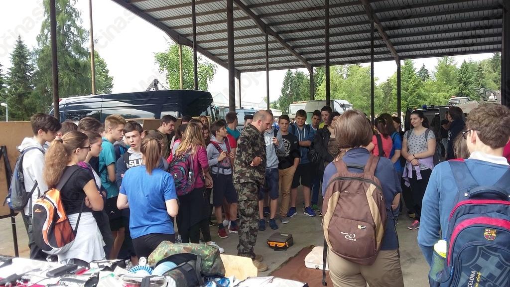 Udeležba na dnevu odprtih vrat vojašnice