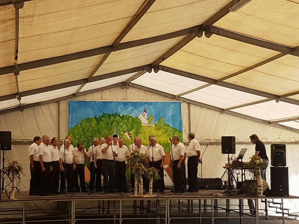 Moški pevski zbor KUD France Prešeren Vojnik (foto: Franci Kuzman)